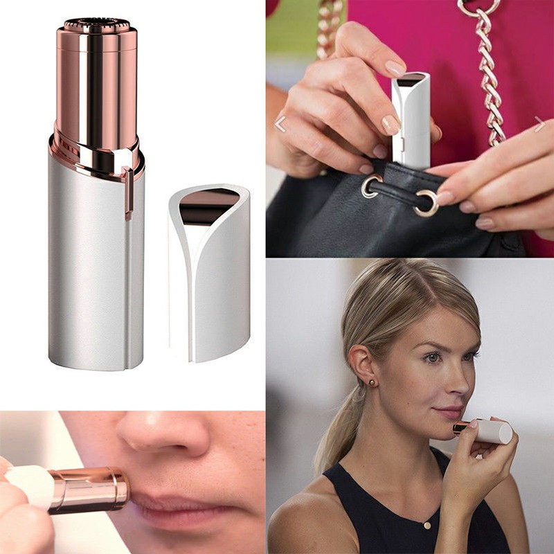 Women Flawlbss Skin Hair Remover Painless Face Facial Hair Remove Tool