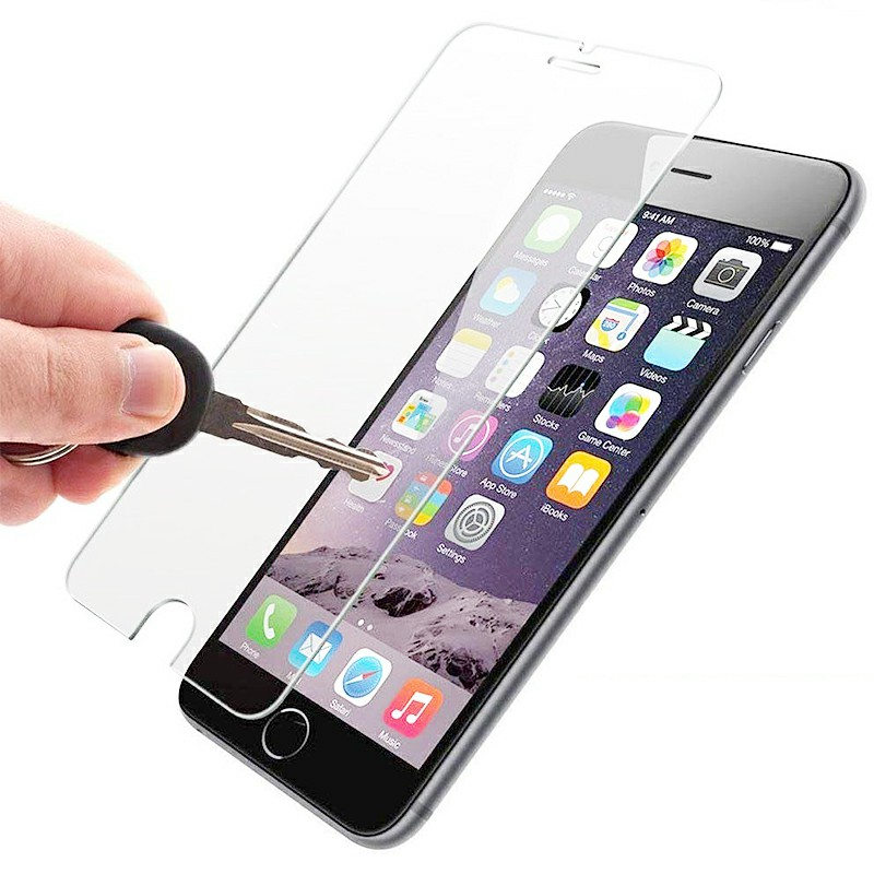 Transparent Ultra-thin Tempered Glass Protection Screen for iPhone 6 Plus