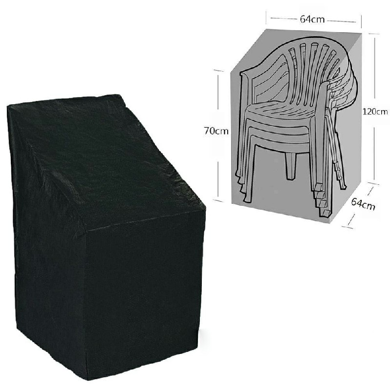 Waterproof Stacking Chair Cover UV Outdoor Garden Patio Furniture Protection