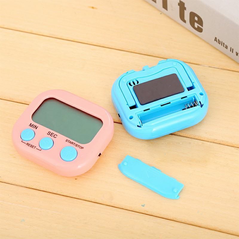 Digital Kitchen Timers with Loud Alarm for Cooking Baking Workout Sports Games - Pink