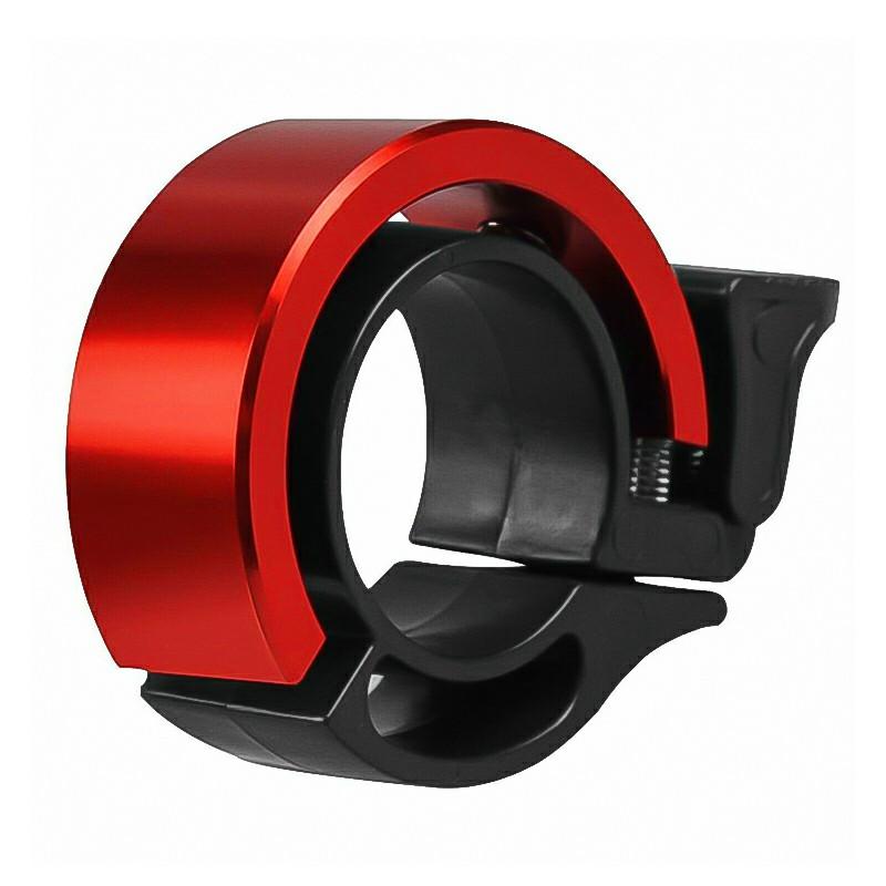 Bicycle Bell Aluminum Alloy Bike Alarm Handlebar Cycling Ring Loud - Red
