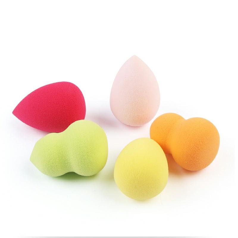 5 pcs Latex-free and Vegan Makeup Blender Beauty Sponge Mini Puff Beauty Makeup Egg