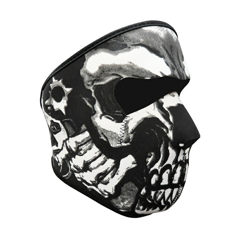 Unisex Windproof Full Face Mask Motorcycle Skiing Snowboarding Bike Facial Protector - Wall Devil
