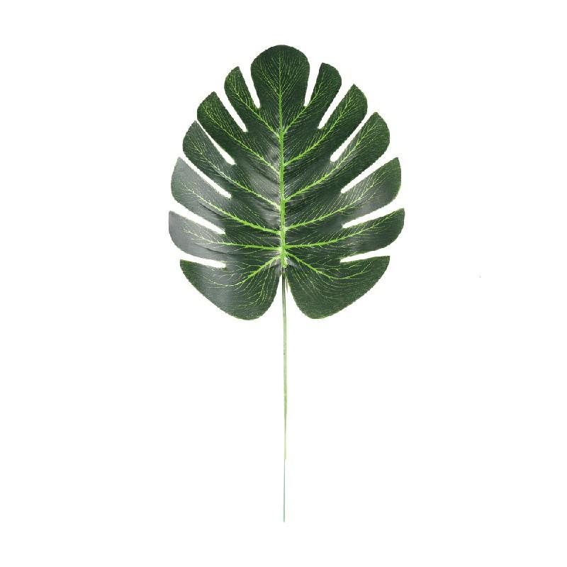 60 pcs Tropical Hawaiian Artificial Palm Leaves Jungle Beach Theme Party Decor