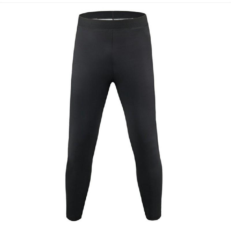 Womens Sauna Pants Neoprene Hot Pants Body Shaper Yoga Leggings - Black 4XL/5XL