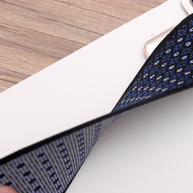 Jacquard 50mm Wide Heavy Duty Suspenders Adjustable Unisex Trousers - Nanvy