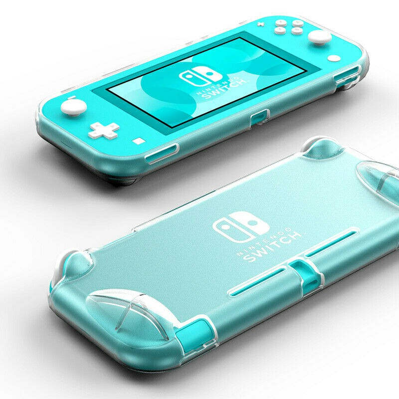 Nintendo Switch Lite TPU bumper Protective Case - Transparent