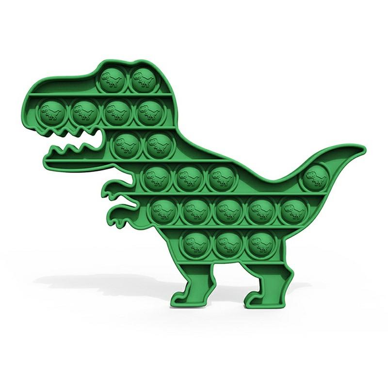 Pop it Fidget a Loud Side and a Quiet Side to Pop - Dinosaur