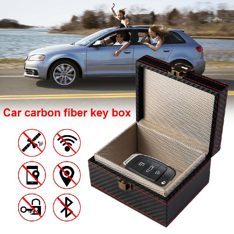 Keyless Car Key Signal Blocker Box Faraday Bag Safety Blocking Pouch Anti-theft